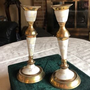 Pair of vintage Candle Sticks ❤️